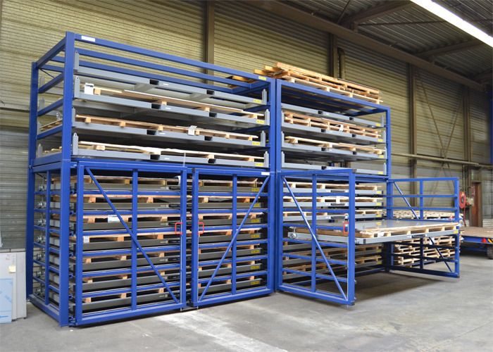 Roll Out Rack Sheet Metal Roll Out Sheet Metal Rack Roll