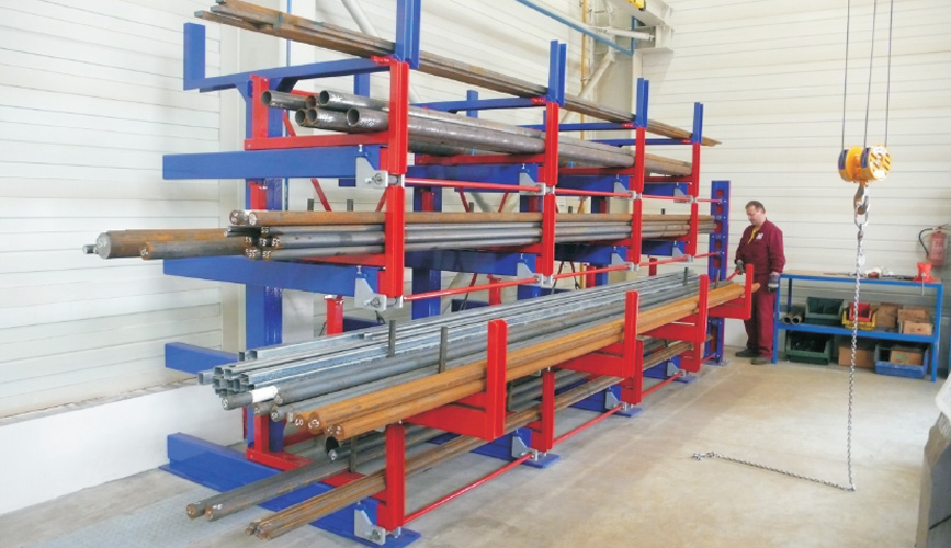 Roll Out Cantilever Rack Eurostorage Storage Profiles