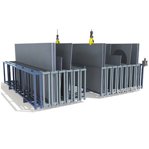 Mobile frame rack: Electrical